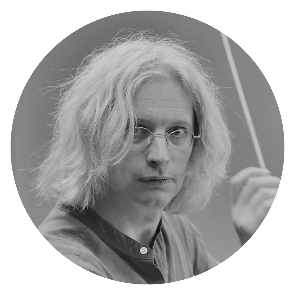 Portrait vom Musiker Bruns.